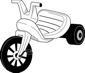 White tricycle. Free trike cliparts download