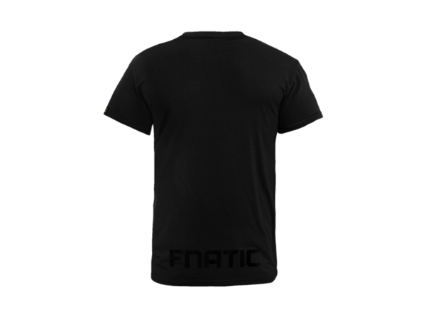 Black tshirt back png. Fnatic line collection crew