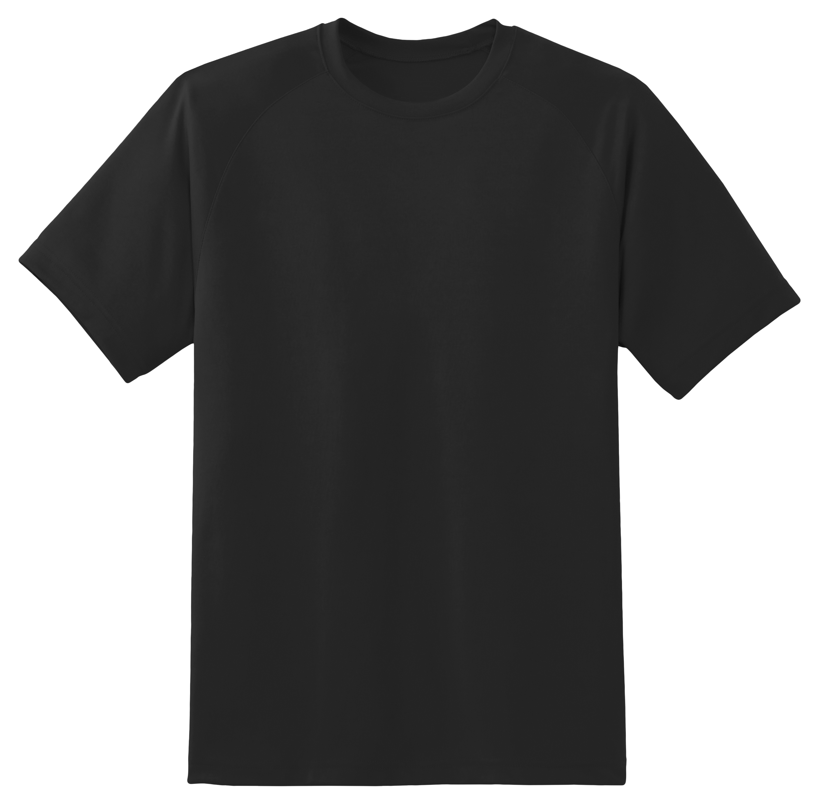 Black tshirt front and back png. T shirt image purepng