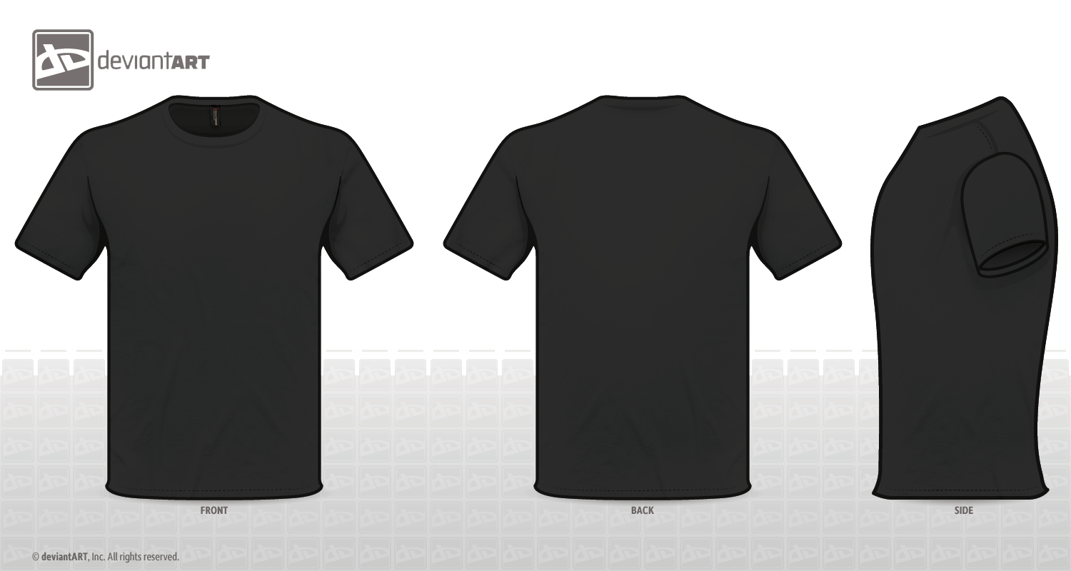 T shirt png template. Transparent image arts tshirt