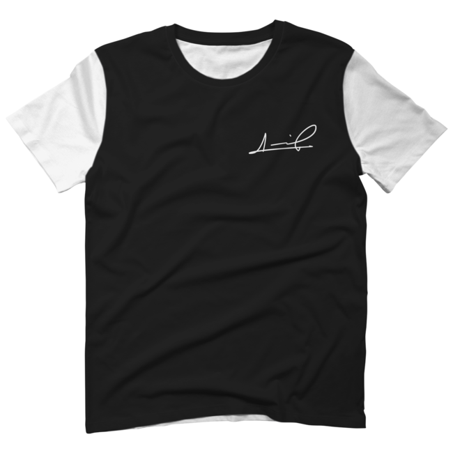 Black t-shirt template png. Sumail freeline all over