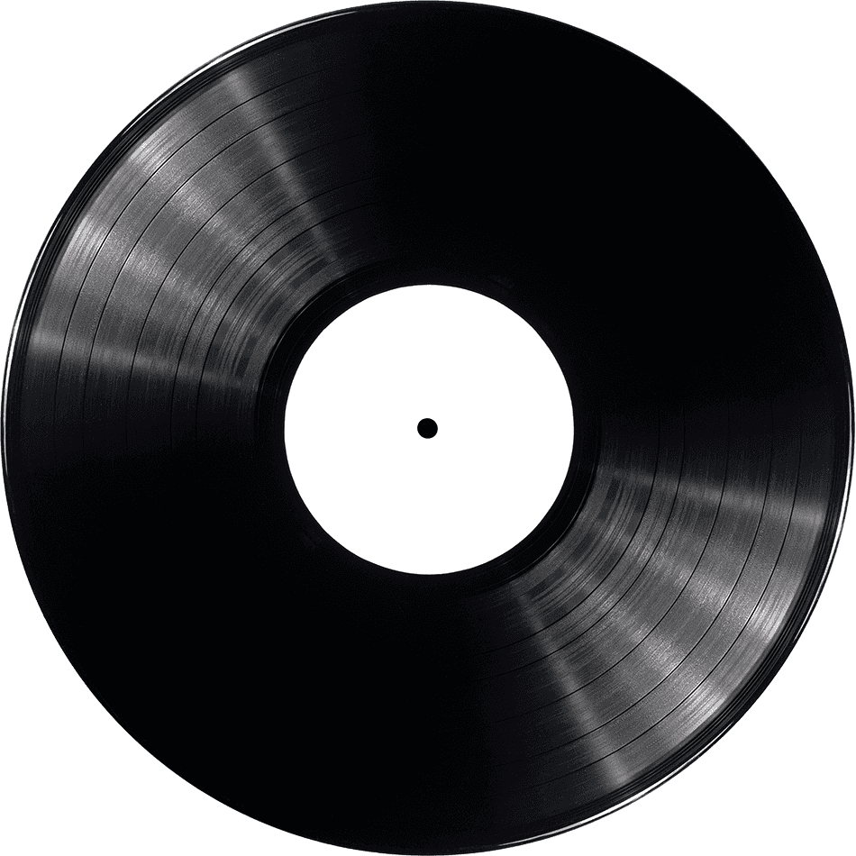 vinyl record template png