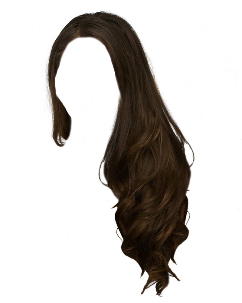 Long hair wig png. By moonglowlilly stock manipulation