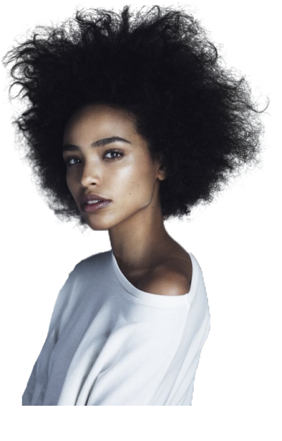 African american model png. Download afro hair free