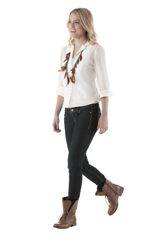 Woman standing png