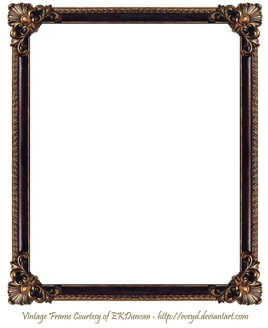 Frame elaborate wood by. Photo frames png vector transparent library