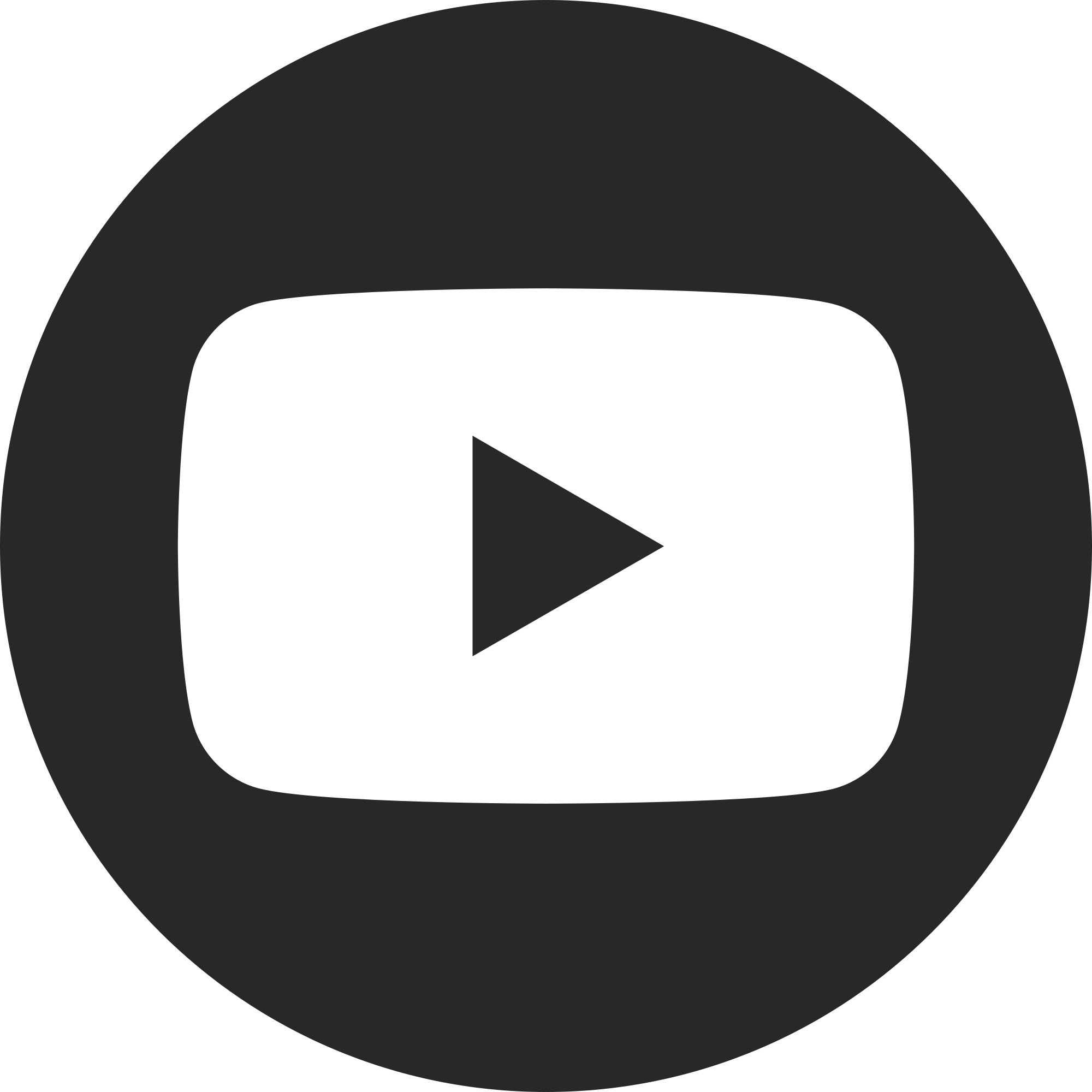 Youtube logo png white. File social dark circle