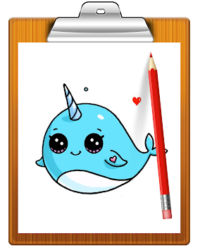 Blackboard drawing cute. Download how to draw