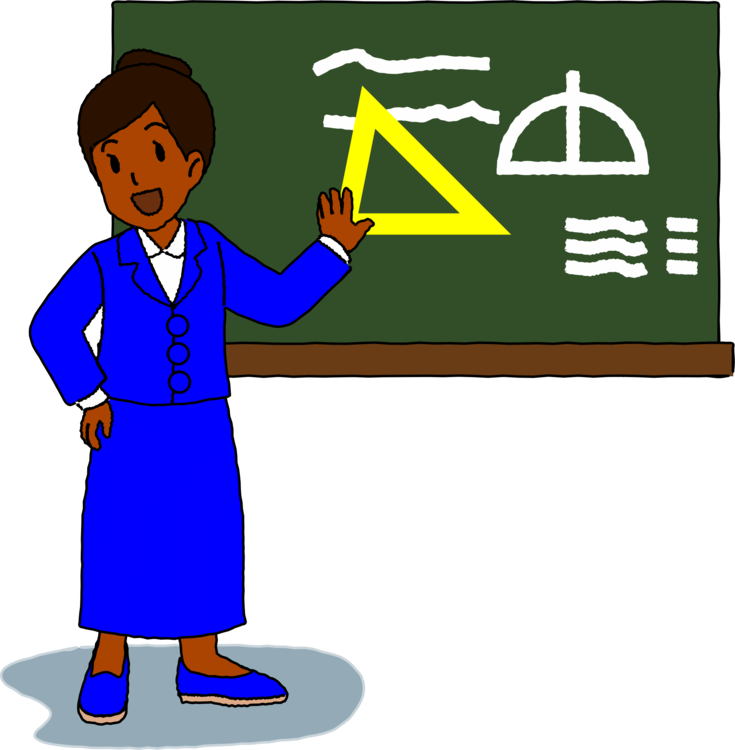 Blackboard drawing teacher. Computer icons download education