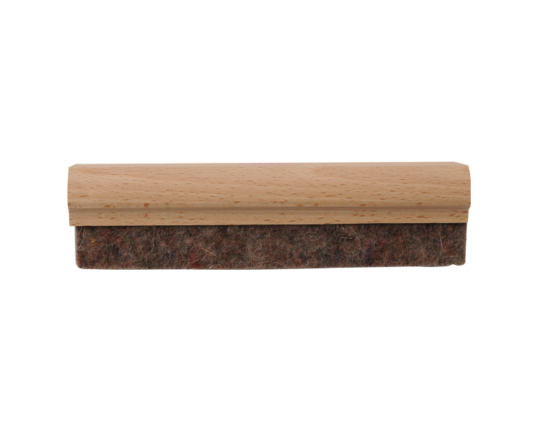 Blackboard with eraser and chalk png. Slate made in france