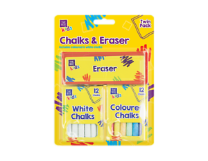 Blackboard with eraser and chalk png. Piece fun set