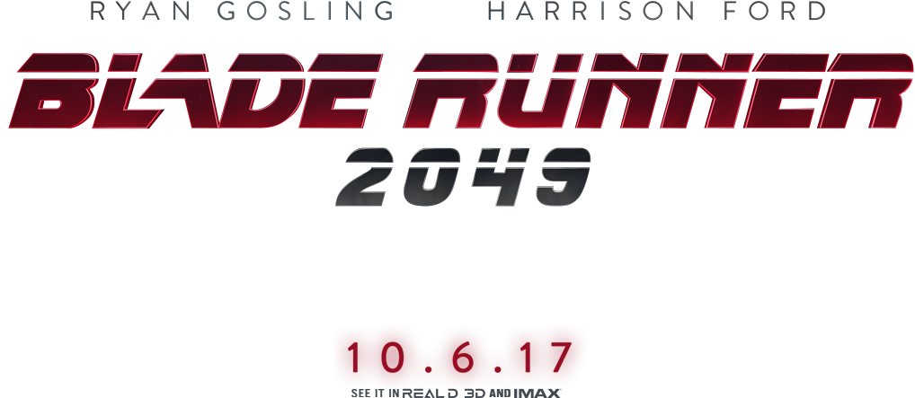 Blade runner 2049 logo png. Concept web site on