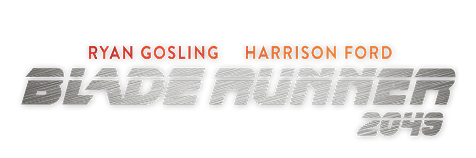 Blade runner 2049 logo png. Creative brief posterspy