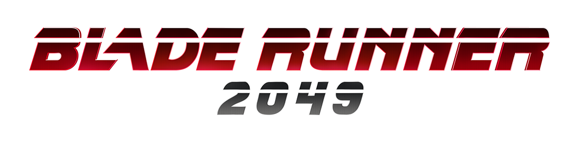 Blade runner 2049 title png. Genuine entertainment return to