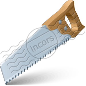 Blade vector hand saw. Handsaw free images at