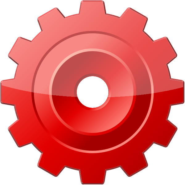 Blade vector svg. Red config or tool