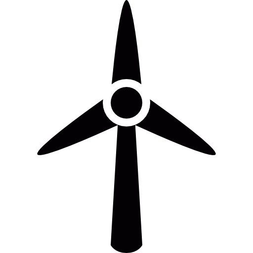 Vector effects wind. Turbine icons free download
