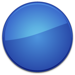 Blank badge png. Blue icons free download