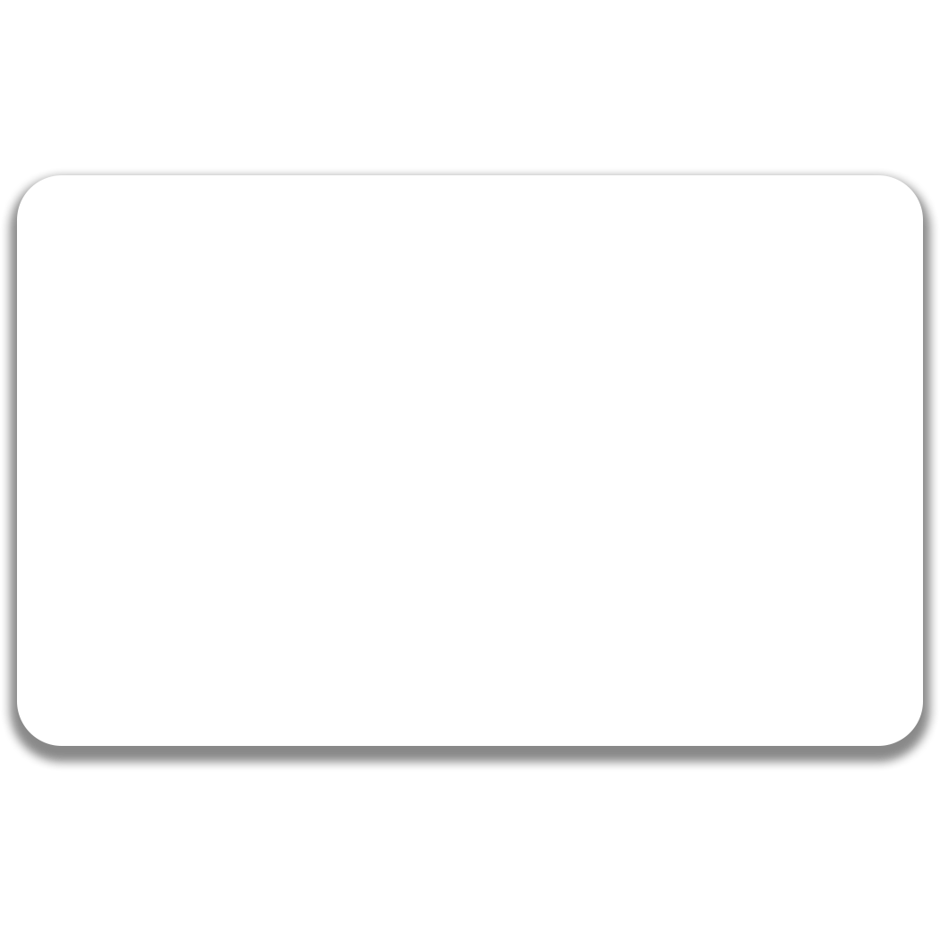 Blank card png