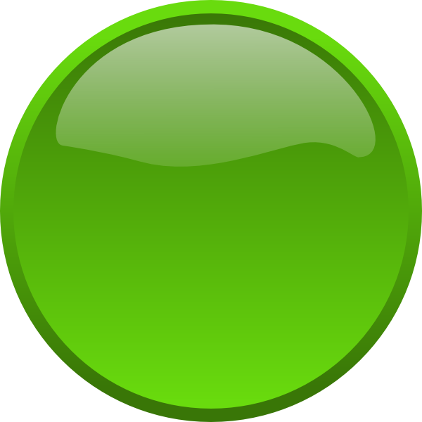 Blank badge png. Big green button free