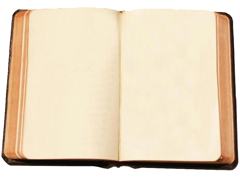 Blank book png. Open abiding truth ministries