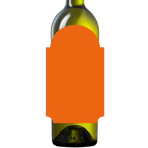 Blank bottle label png. Design your own wine
