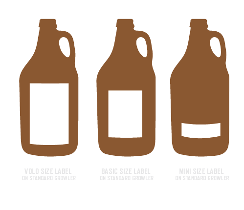 Blank bottle label png. How to use labels