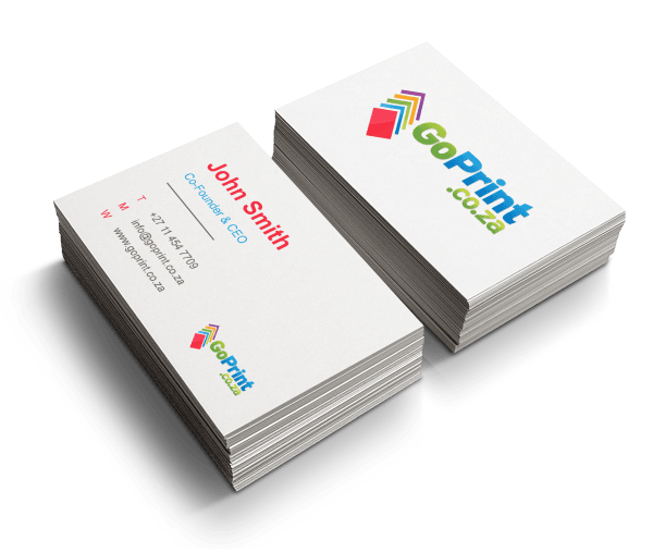 Business cards png. Printing goprint from
