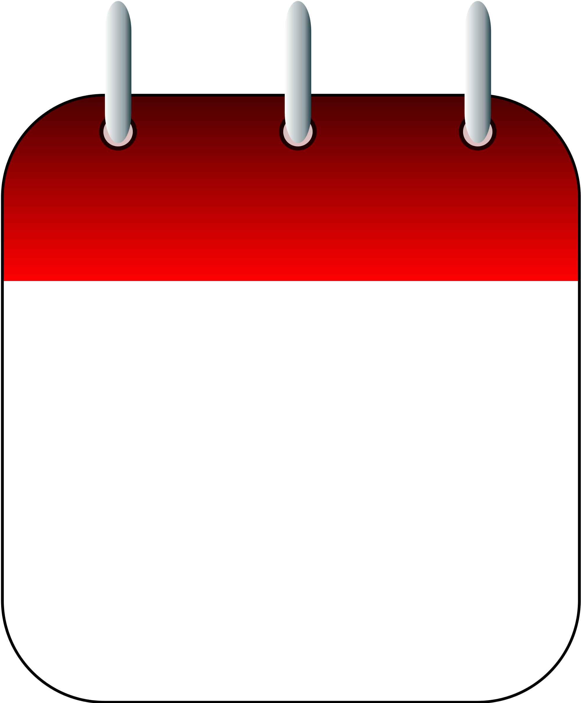 Calender vector day calendar. File blank page icon