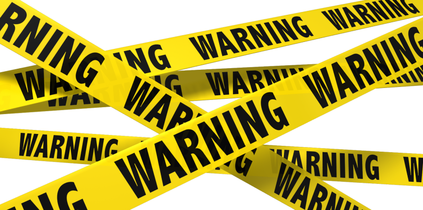 Blank caution tape png. Warning four columns marketing