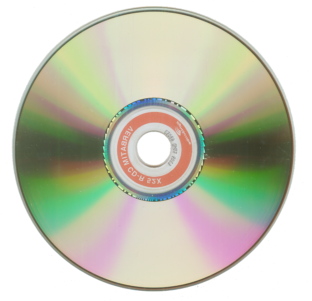 cd transparent spinning