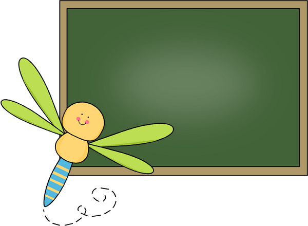 Blank chalkboard png. Clip art images dragonfly