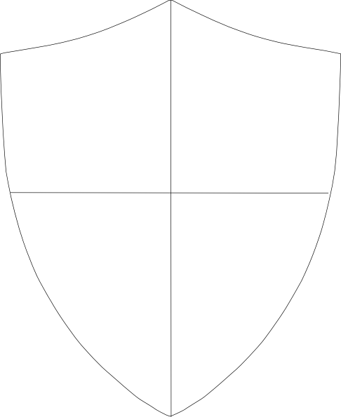 Blank family crest png. Free baseball stencil shield