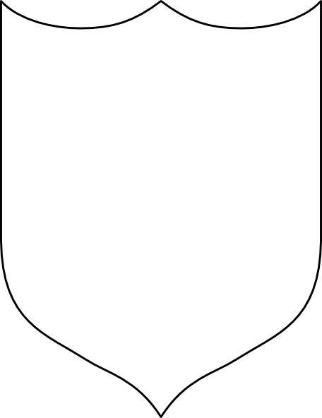 Blank shield png. Clip art at clker