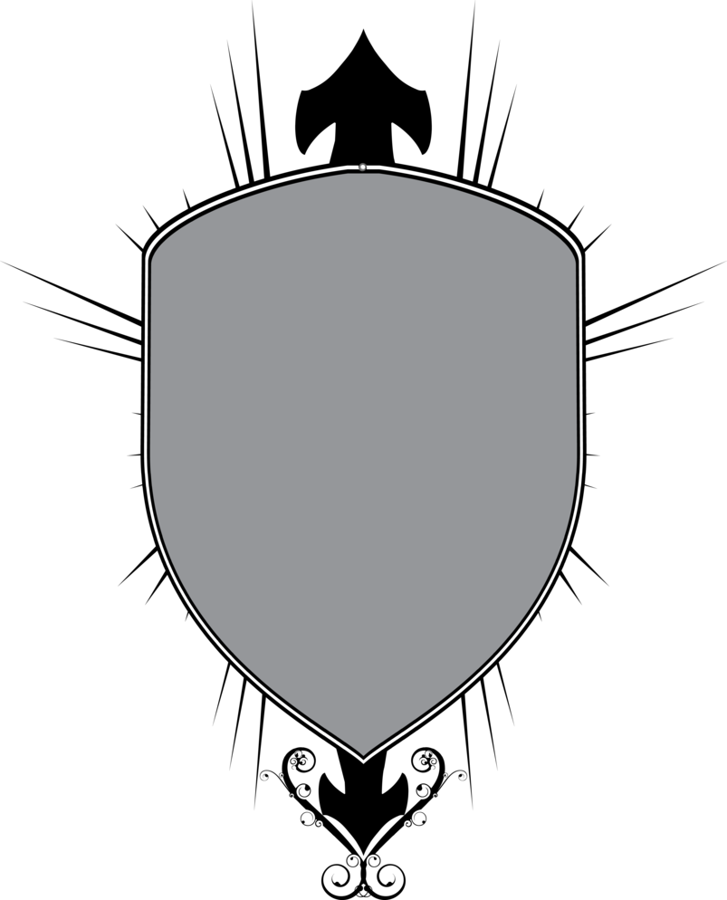 Shield for by justdejan. Blank crest png banner free stock