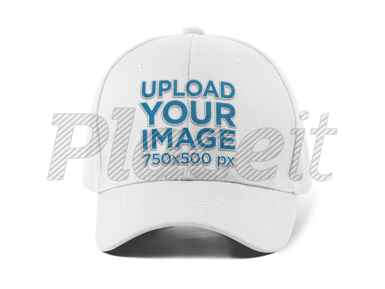 Dad cap png. Placeit front view of
