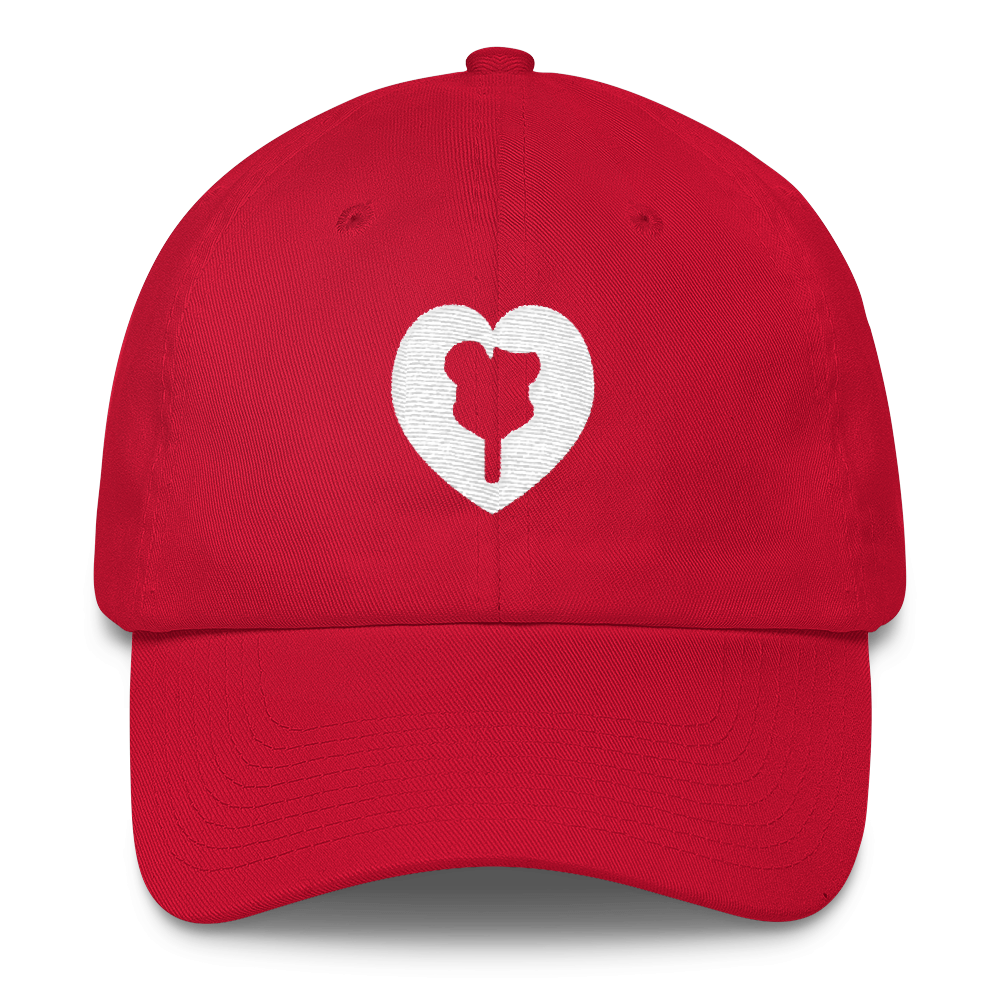 Blank dad hat png. I heart premium ice