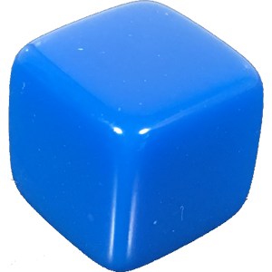 Dice png blank. D mm blue