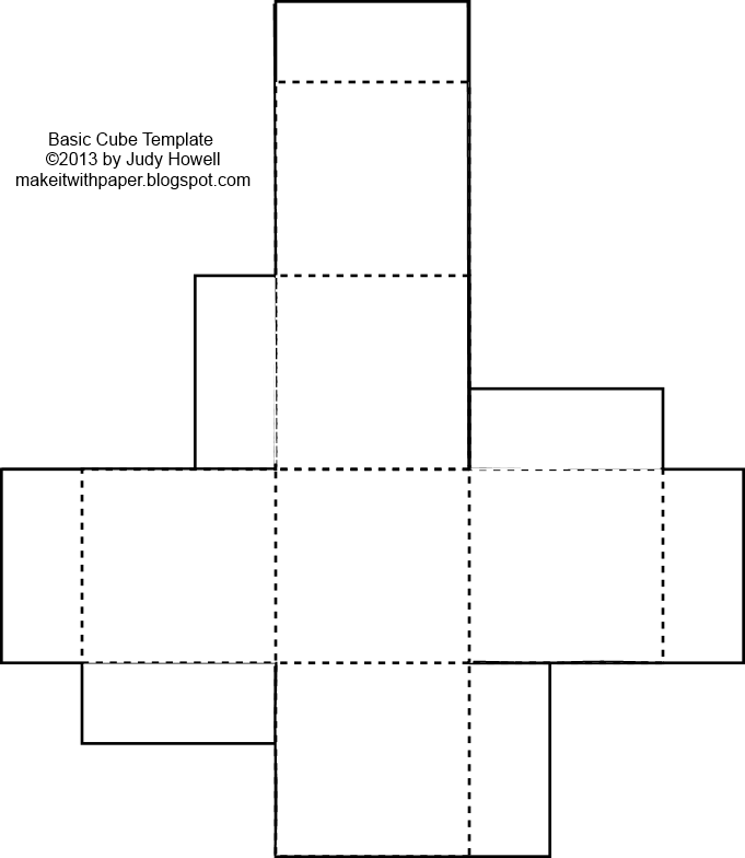 Make it with paper. Blank dice png graphic free library