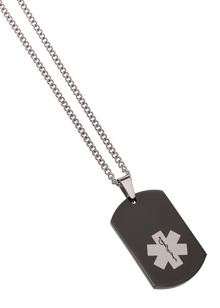 dog tag chain png