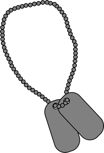 clip purse dog tag