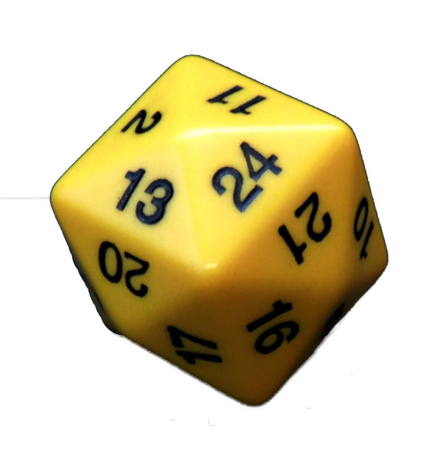 Blank drawing dice. Sided miller pads