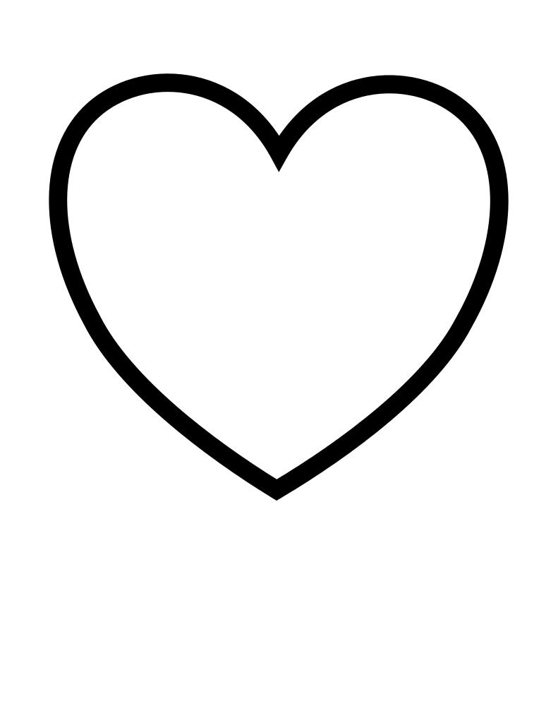 Notes drawing heart. Clipart transparent download