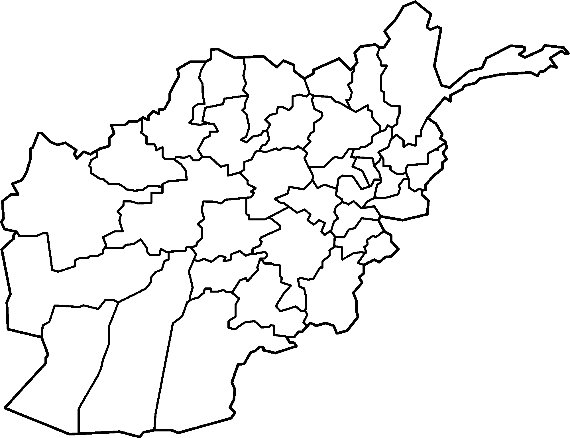 Blank drawing line. File afghanistan provinces png