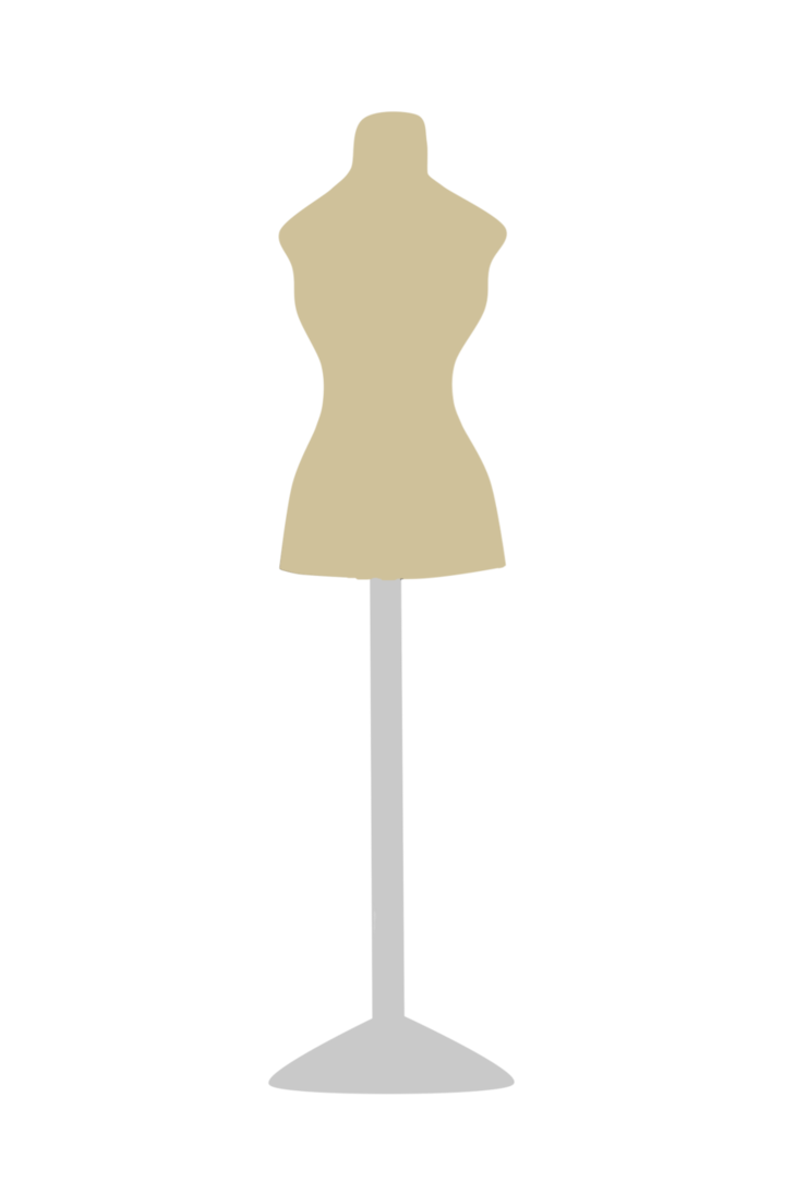 Transparent mannequins blank. Mannequin template by refithenudibranch
