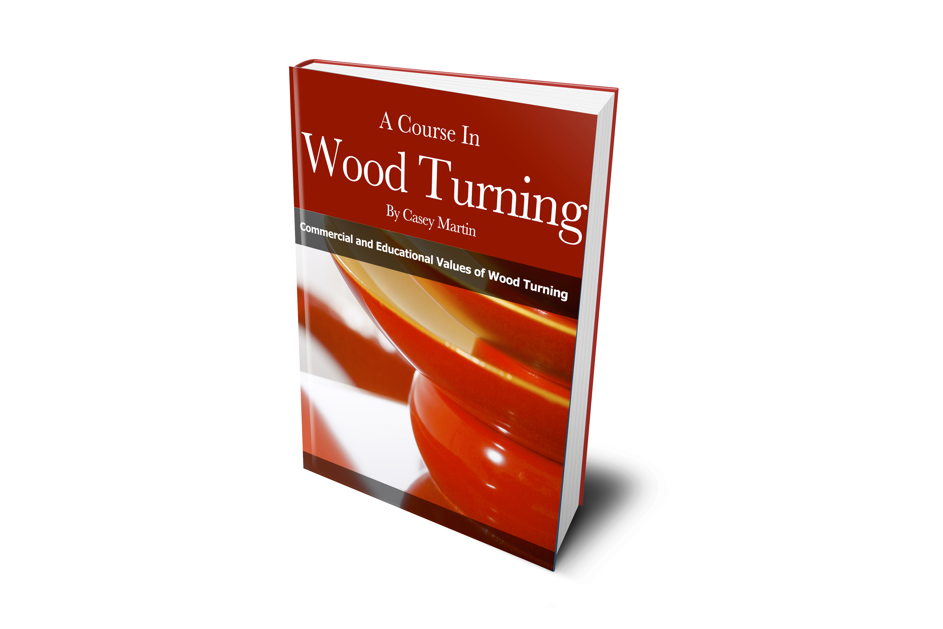 Blank ebook cover png. A course in woodturning