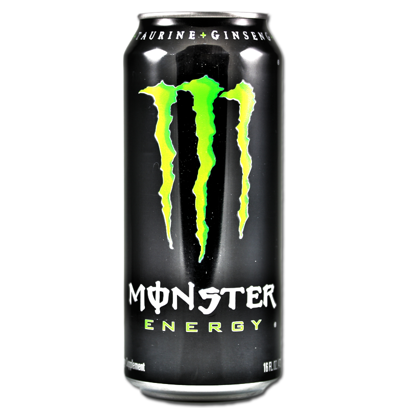 Blank energy drink png. Contemporary monster resume crest