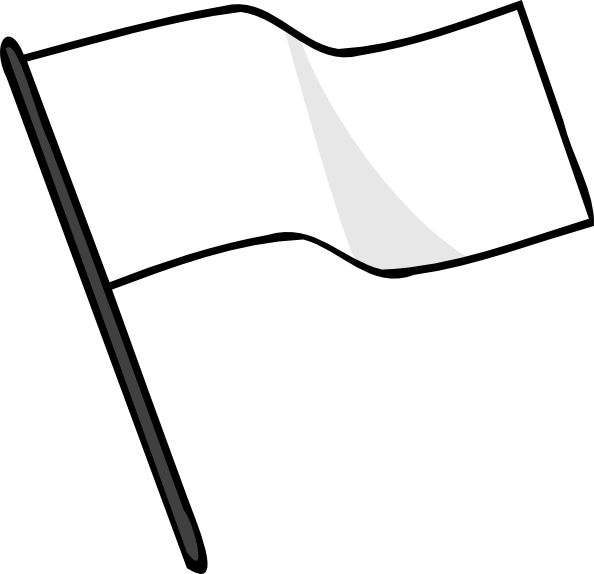 Svg flags wavy. Waving white flag clip