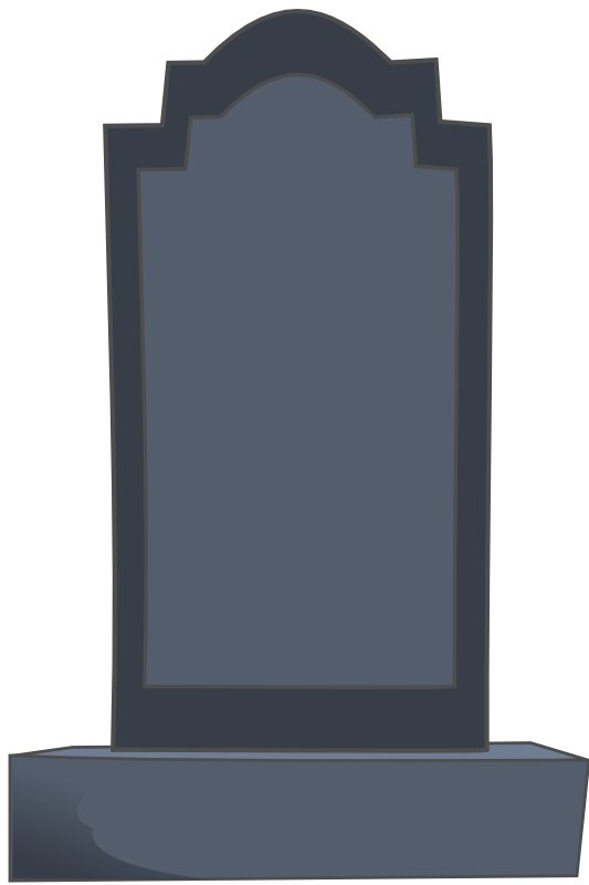 Blank tombstone png. Gravestone image