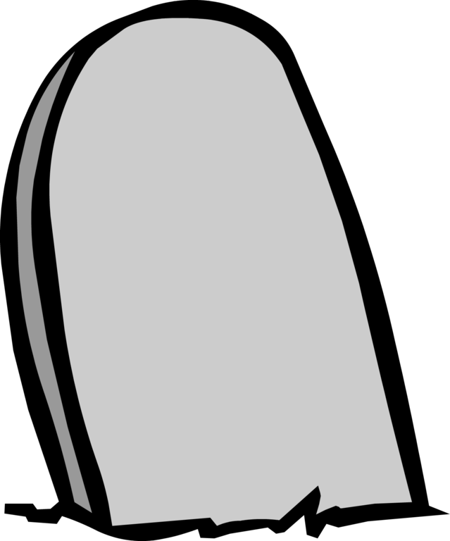 Blank headstone png. Image tombstone club penguin